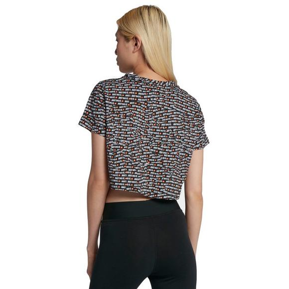 0c99ad1fe60 Nike Sportswear JDI Women's Short-Sleeve Crop Top - Main Container Image 2