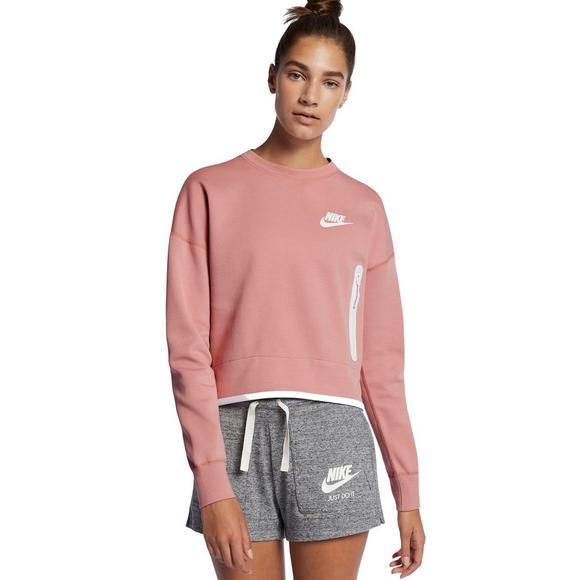 555bf5b9 Nike Women's Sportswear Tech Fleece Shirt - Main Container Image 1