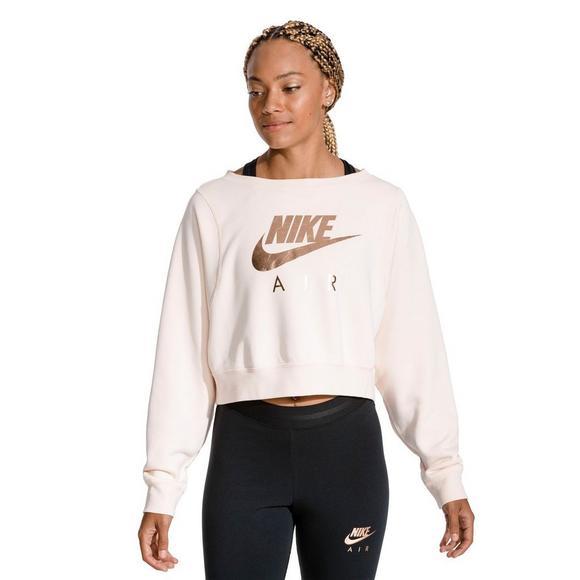 1656ae28c833ce Nike Sportswear Women's Rally Crew Long Sleeve Top - Hibbett US