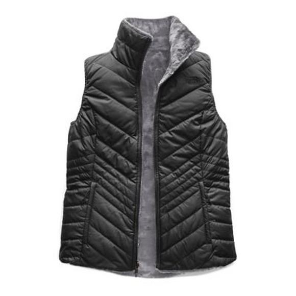 3d31bee92 The North Face Women's Mossbud Insulated Reversible Vest - Grey