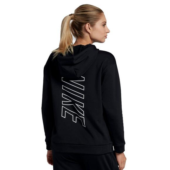 24bc3bd0997f Nike Women s Therma Swoosh Fleece Training Hoodie - Main Container Image 2