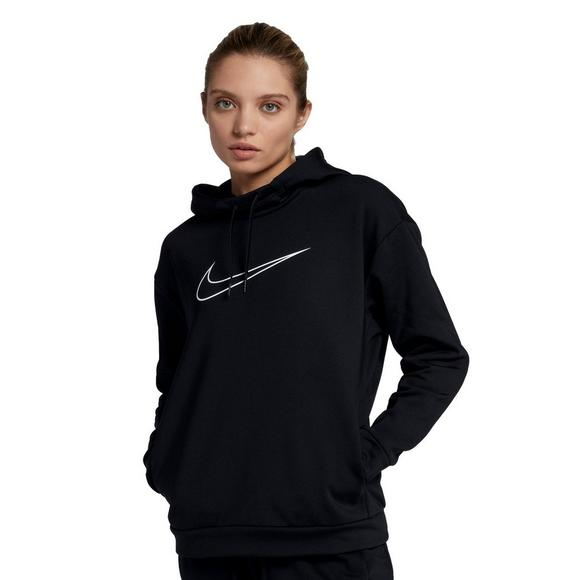 finest selection 5a0b3 a831c Nike Women s Therma Swoosh Fleece Training Hoodie - Main Container Image 1
