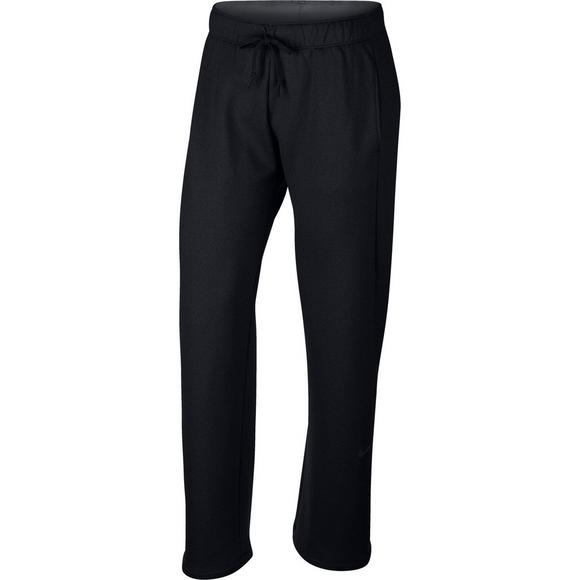 af402fe895 Nike Women's Therma Fleece Training Pants - Grey - Main Container Image 1