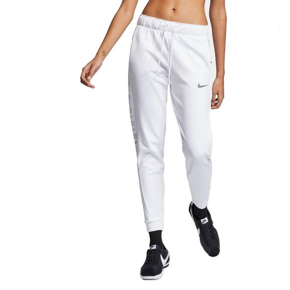 803649b07d Nike Therma Women's Fleece White Training Pants - Main Container Image 2