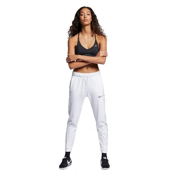 5e682178f8 Nike Therma Women's Fleece White Training Pants - Main Container Image 1