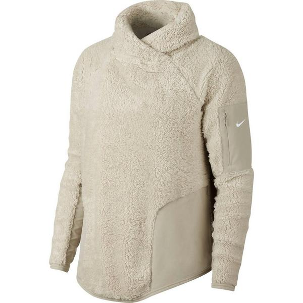 efc8c6e6e5a4 Display product reviews for Nike Women s Long-Sleeve Fleece Training  Top-Sand