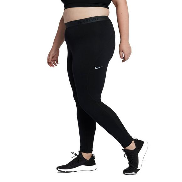 6eeab0e08 Nike Women's Pro Warm Tights-Black - Main Container Image 2