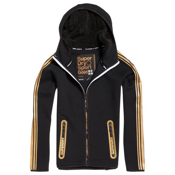 Superdry Women s Gym Tech Gold Hoodie - Main Container Image 1 13aa0799d2d