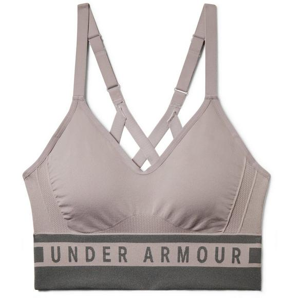 c4a2aada01 Under Armour Women s Seamless Strappy Sports Bra - Main Container Image 1