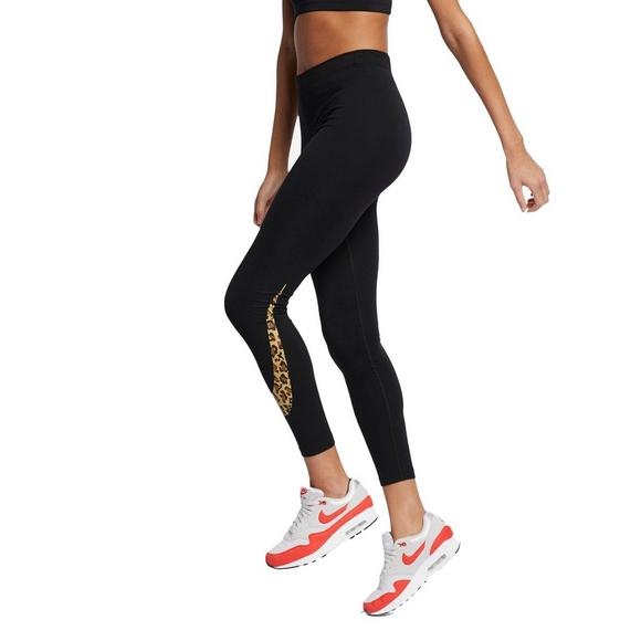 super service top-rated newest beauty Nike Sportswear Women's Animal Print Leggings