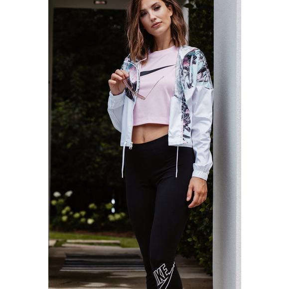 b56cf75173d Nike Sportswear NSW Women's Short-Sleeve Crop Top - Pink - Main Container  Image 6