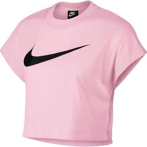 4c1329e7a747db Nike Sportswear NSW Women s Short-Sleeve Crop Top - Pink