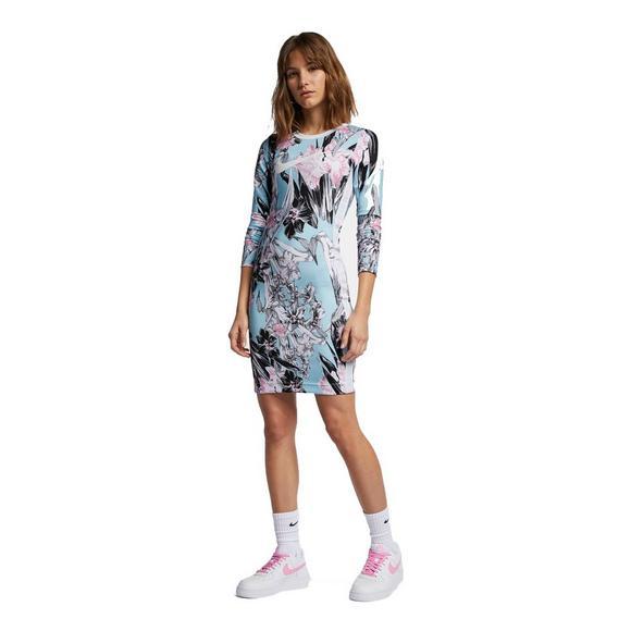 86cf3dde571 Nike Sportswear Women s Hyper Femme Long Sleeve Dress - Main Container  Image 1