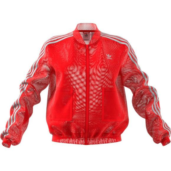 78478a65b adidas Originals Women's Tulle Track Jacket