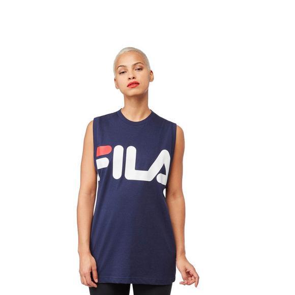 b2167e3f3 Fila Women's Sesto Sleeveless T-Shirt - Navy - Main Container Image 1
