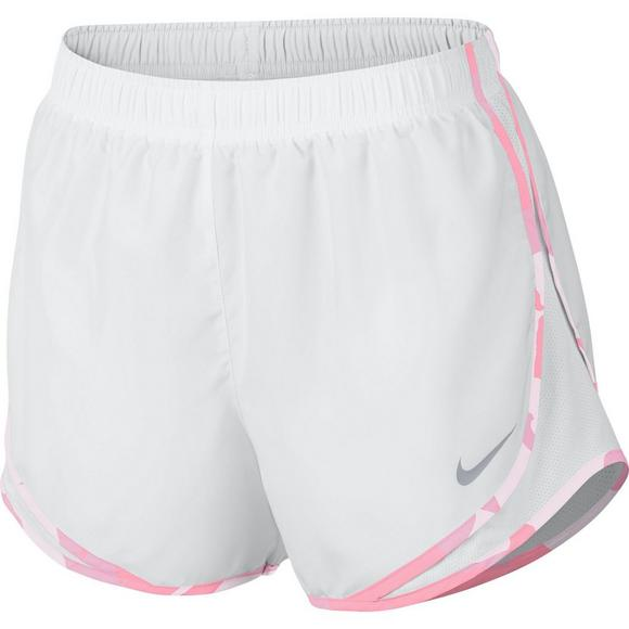 dd23c044a Nike Women's White Tempo Running Shorts - Main Container Image 1