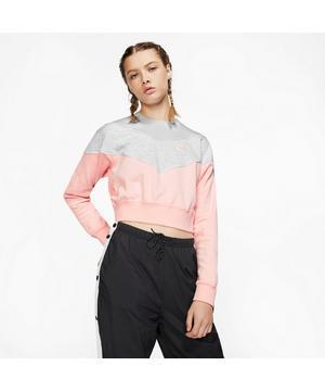 Nike Women's Heritage Fleece Crew Sweatshirt