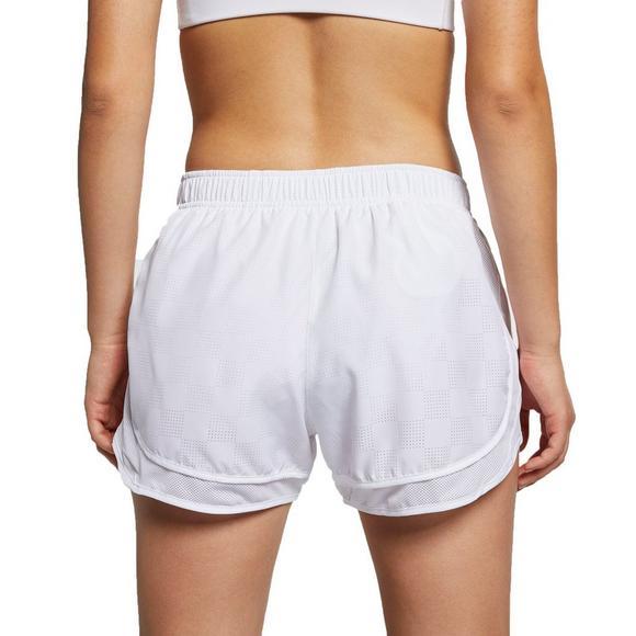 b651ad2b795 Nike Women's Tempo Running Shorts - White - Main Container Image 2