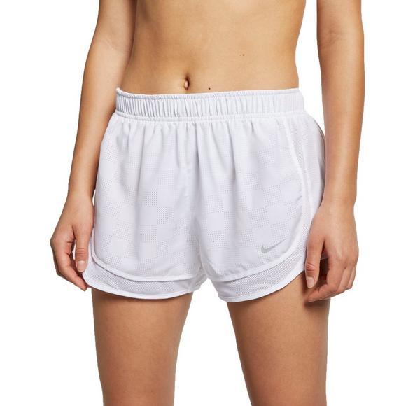 1d5de12e90c Nike Women's Tempo Running Shorts - White - Main Container Image 1