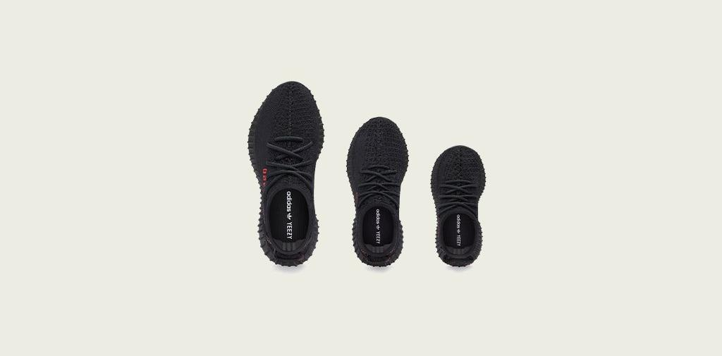 Sneakers Release Adidas X Yeezy Boost 350 V2 Core Black Core Black Red