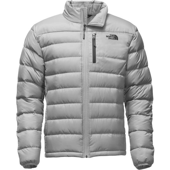 ec88161ef The North Face Men's Aconcagua Down Jacket-Grey - Hibbett US