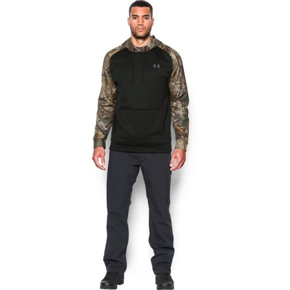 new style 7e4f7 3836a Under Armour Storm Armour Fleece Camo Hoodie - Main Container Image 1