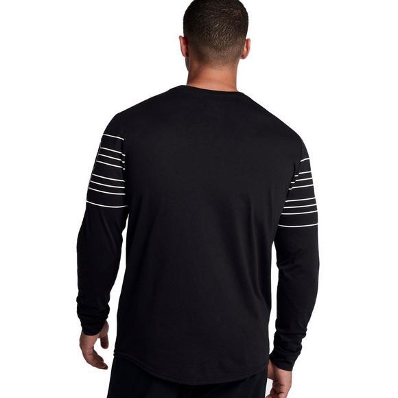 5fb2e829b68 Jordan Sportswear 23 Lines Long-Sleeve T-Shirt - Black - Main Container  Image