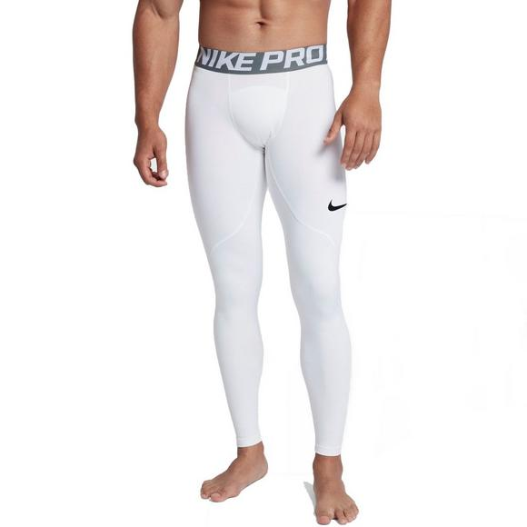 26f8bd0b2bce0 Nike Men's Pro Warm Tights - White - Main Container Image 1