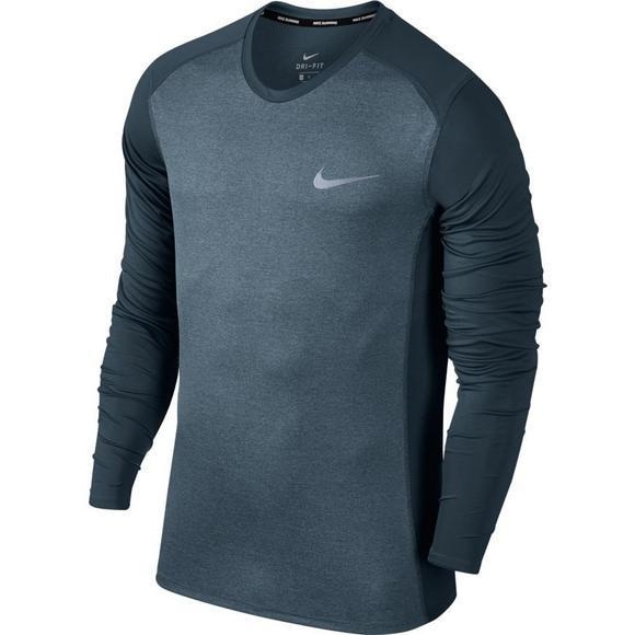 83510065704c1 Nike Men's Dry Miler Long Sleeve Running Shirt - Main Container Image 1