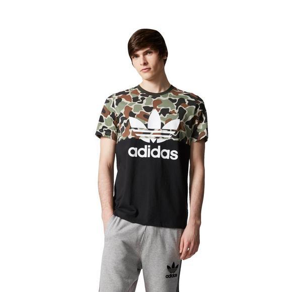 eddc6a5e adidas Originals Men's Camouflage Colorblock T-Shirt - Main Container Image  1