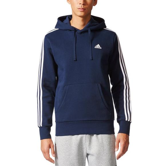 adidas Men's Essentials 3-Stripes Pullover Fleece
