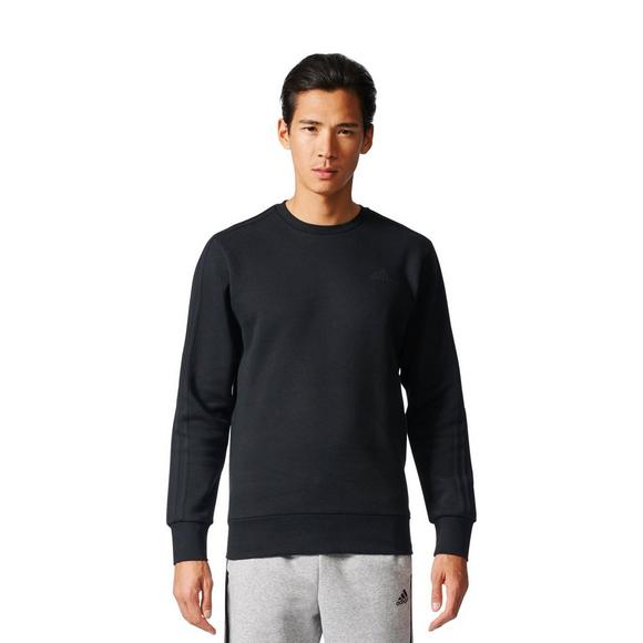 0d41516cdc adidas Men's Essentials 3-Stripes Crew Sweatshirt - Hibbett US