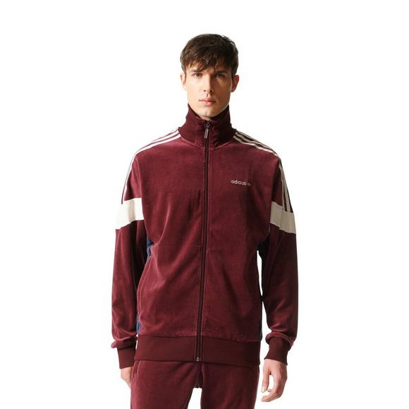 genuine shoes most popular no sale tax adidas Originals Men's Challenger Velour Track Jacket ...