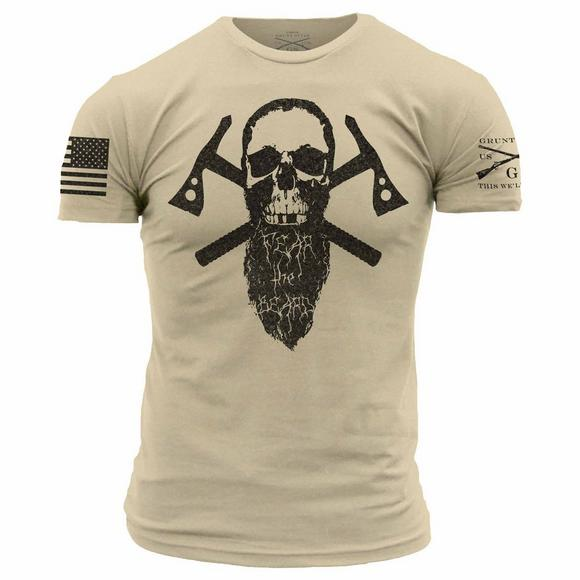 Grunt Style Men s Fear the Beard II T-Shirt - Main Container Image 1 a857eb7b8d1
