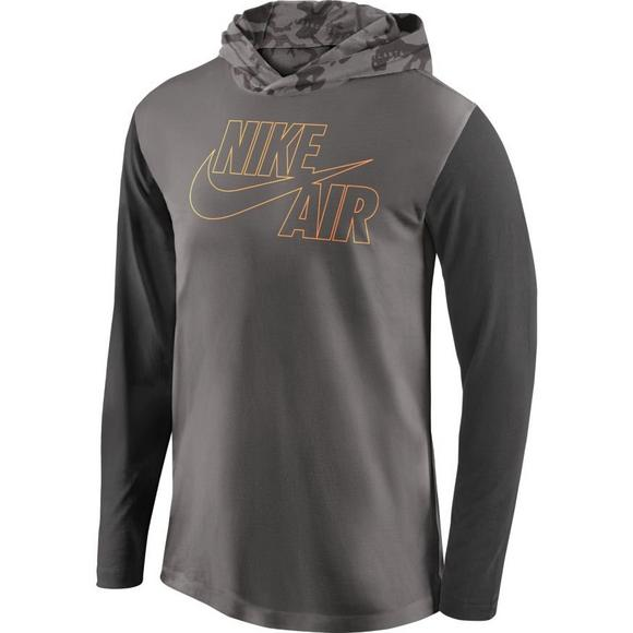 c8342c14 Nike Men's Air Force 1 Camo Hooded Top - Main Container Image 1