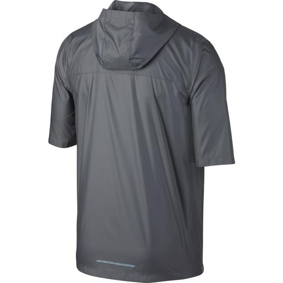 20b752a174c9 Nike Men s Shield Short-Sleeve Running Jacket - Main Container Image 2