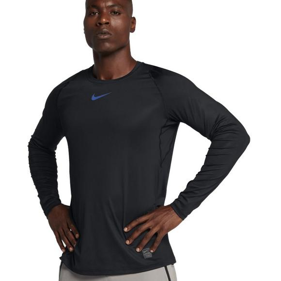 db27b3cda2 Nike Men's Pro Colorburst Long Sleeve Shirt - Main Container Image 1