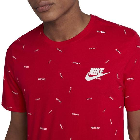 6834aae7dd Nike Men's Just Do It AOP T-Shirt - Hibbett US