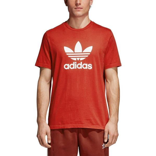 9ce126195d0329 Display product reviews for adidas Men s Trefoil Tee - Red