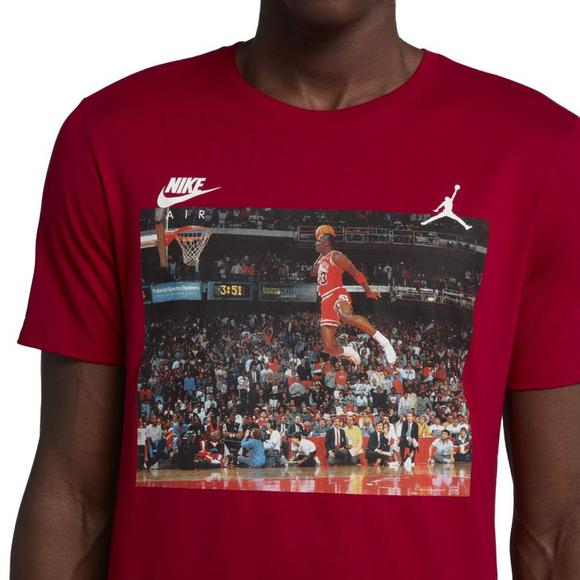 012b141119d Jordan Men's Sportswear 1988 Dunk T-Shirt - Main Container Image 4