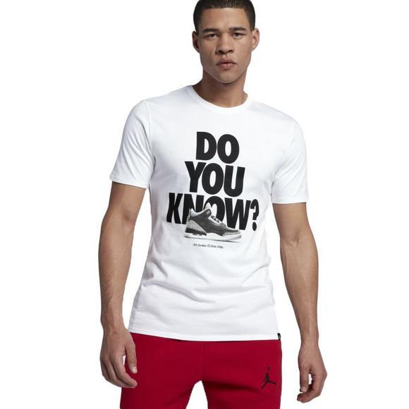 de9037f2a29076 Jordan Men s Sportswear AJ 3 CNXN 2 T-Shirt - Main Container Image 1