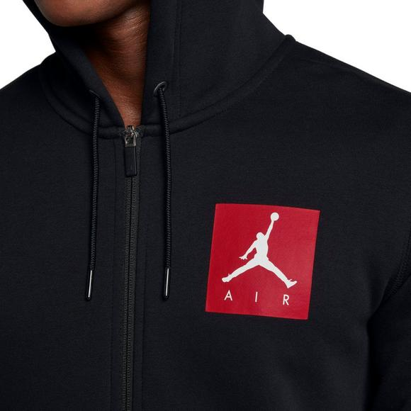 new arrival faabc 8823b Jordan Men's Sportswear AJ 3 Flight Fleece Full-Zip Hoodie ...