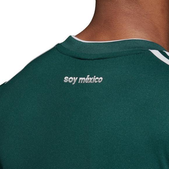 finest selection 0b11c 83f30 adidas Men's Mexico Home Replica Jersey - Hibbett   City Gear