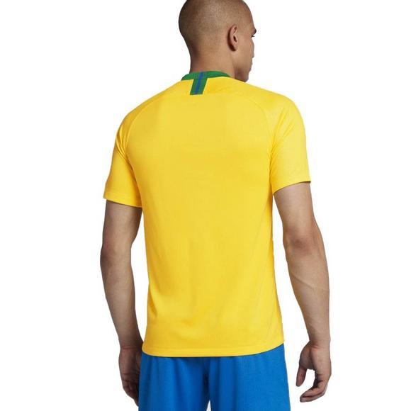 37af6a948962 Nike Men s Breathe Brasil CBF Stadium Home Soccer Jersey - Main Container  Image 2