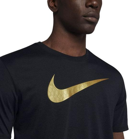 7a21ee2776db Nike Men s Basketball Golden Swoosh Tee - Main Container Image 4