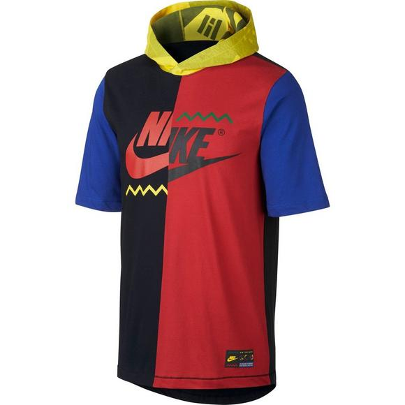 e2345b6a Nike Men's Sportswear Short-Sleeve Hooded T-Shirt - Main Container Image 7