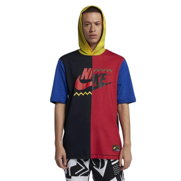 54f07f85 Nike Men's Sportswear Short-Sleeve Hooded T-Shirt - Main Container Image 1