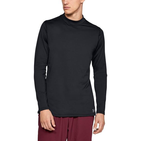 caf8298a1 Under Armour Men's ColdGear Armour Mock Long Sleeve T-Shirt - Main  Container Image 1