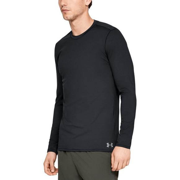 94ff8b58 Under Armour Men's ColdGear Fitted Crew Long Sleeve Shirt - Main Container  Image 1