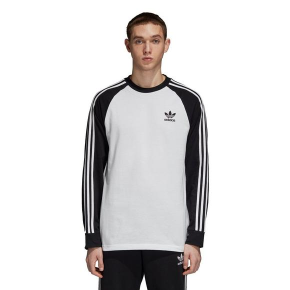 1a1ab96f15af adidas Originals Men s 3 Stripes Long Sleeve T-Shirt - Main Container Image  1